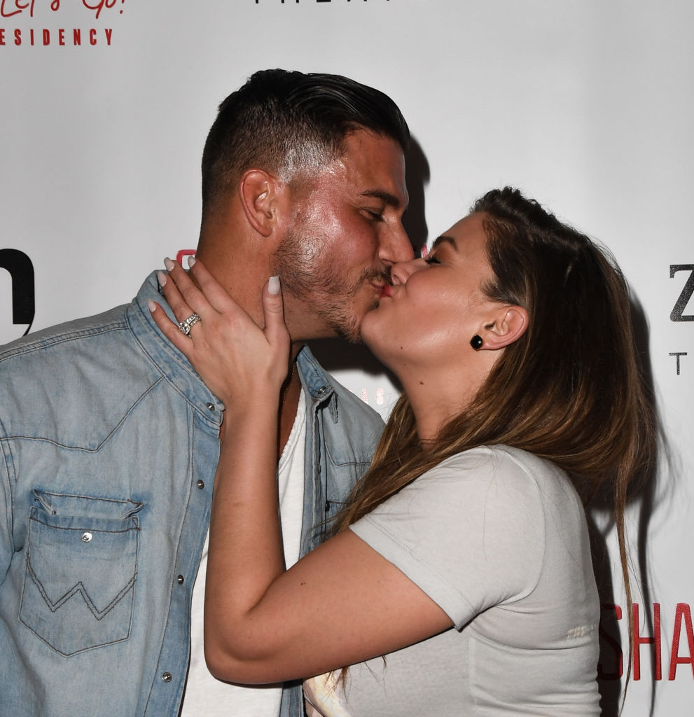 "Jax Taylor and Brittany Cartwright attend the grand opening of Shania Twain's ""Let's Go!"""