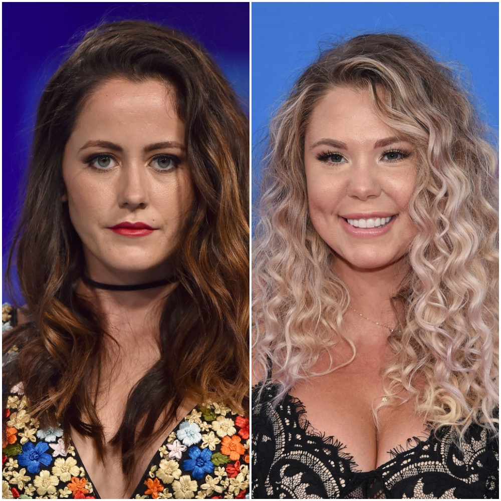 (L-R) Jenelle Evans and Kailyn Lowry