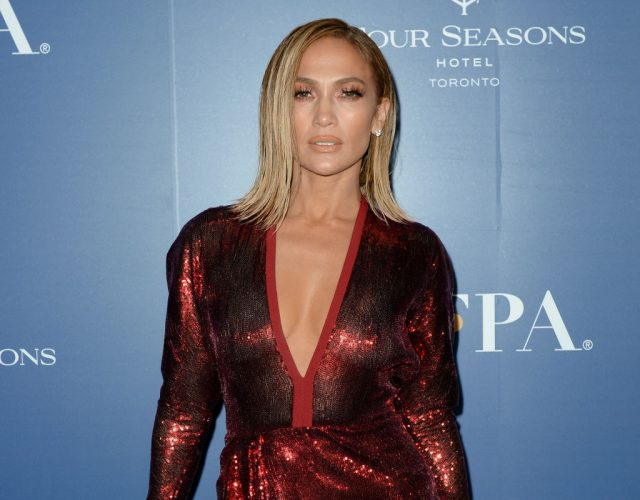 Jennifer Lopez at the Toronto Film Festival on Sept. 7, 2019