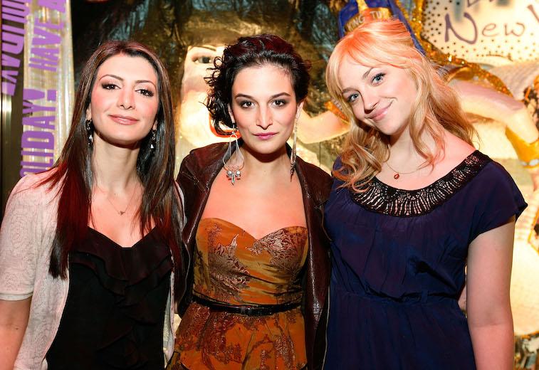 Nasim Pedrad, Jenny Slate and Abby Elliott from SNL