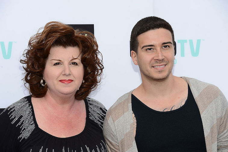 'Jersey Shore' star Vinny Guadagnino and his mother