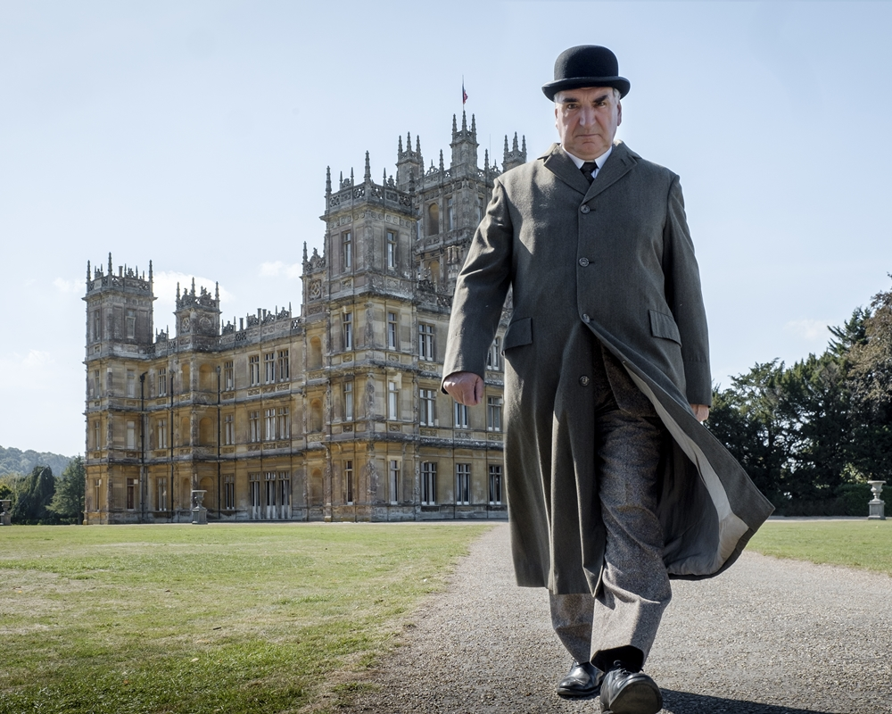 Jim Carter in Downton Abbey