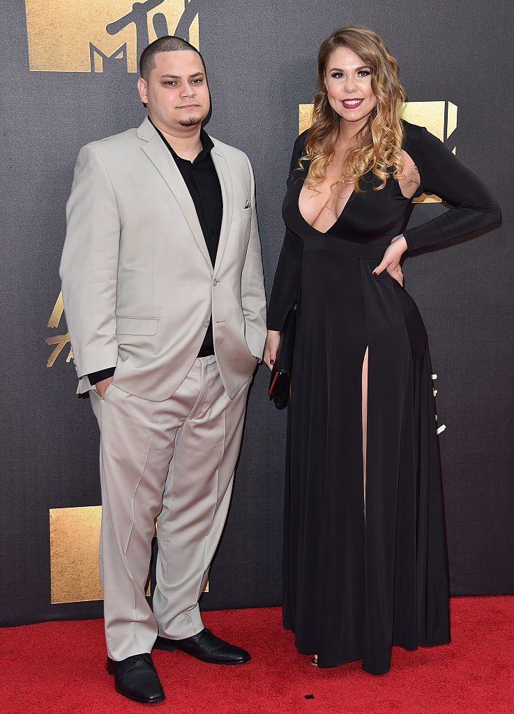 Jo Rivera and Kailyn Lowry   Axelle/Bauer-Griffin/FilmMagic