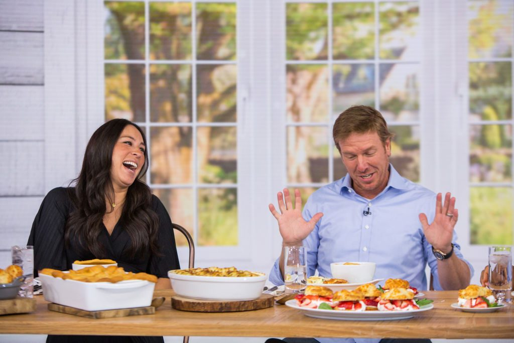 Joanna Gaines and Chip Gaines on the Today Show  | Nathan Congleton/NBCU Photo Bank/NBCUniversal via Getty Images