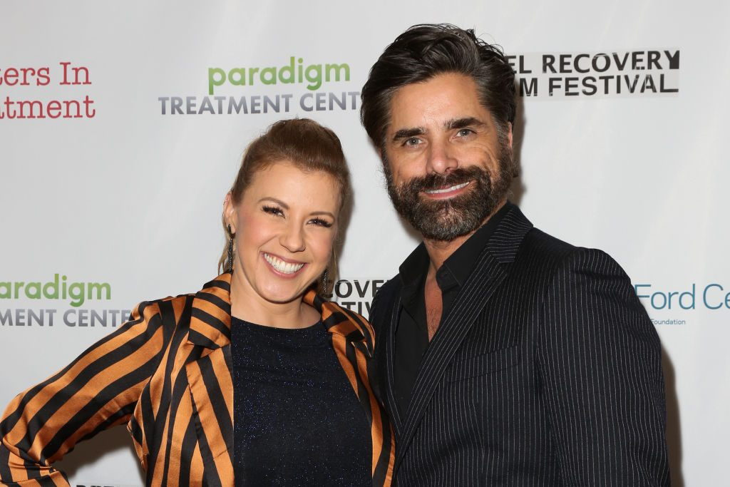Jodie Sweetin and John Stamos at the 10th Annual Experience, Strength And Hope Awards