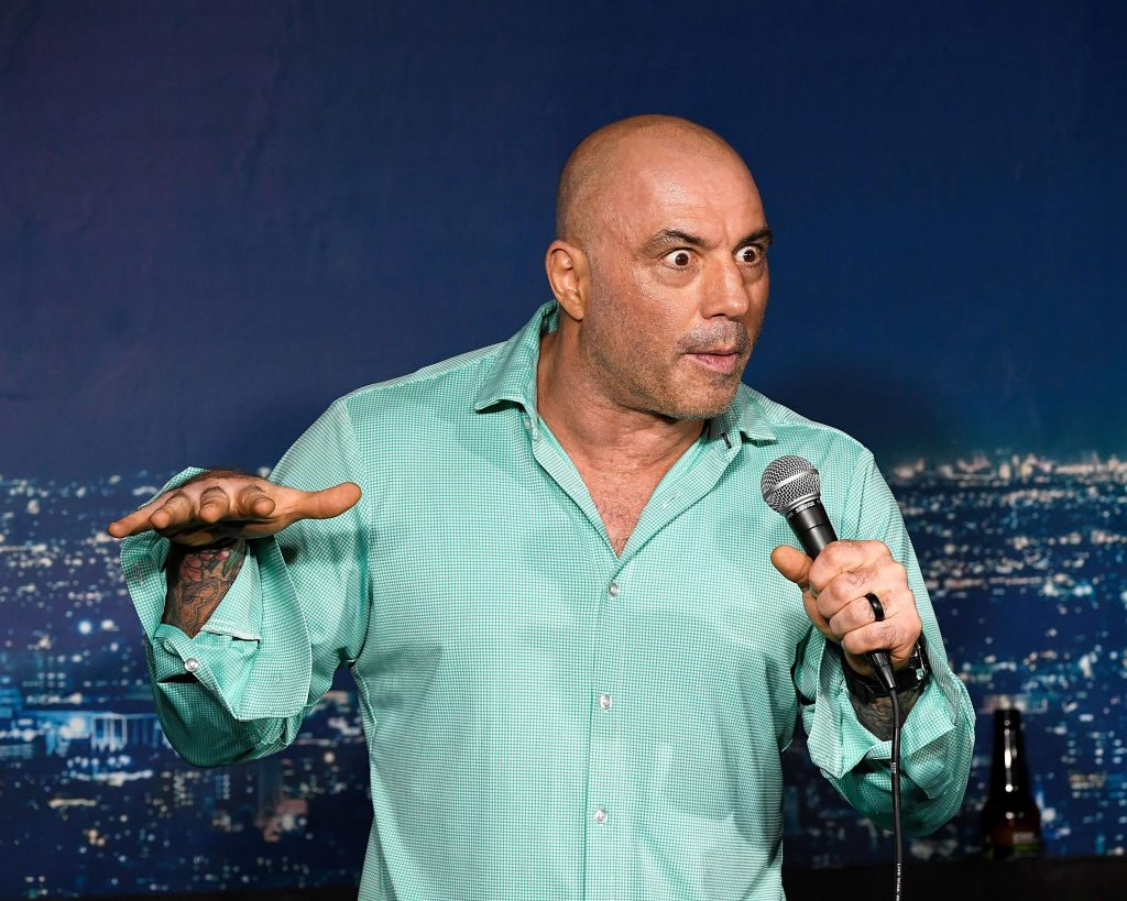 Joe Rogan performs at the Ice House Comedy Club