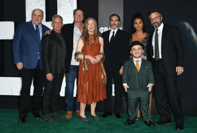 The cast of 'Joker' at the premiere