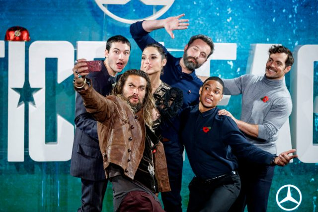 The cast of 'Justice League'