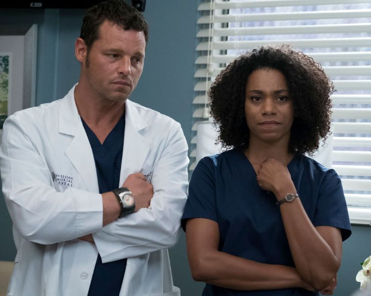 Justin Chambers and Kelly McCreary Season 10