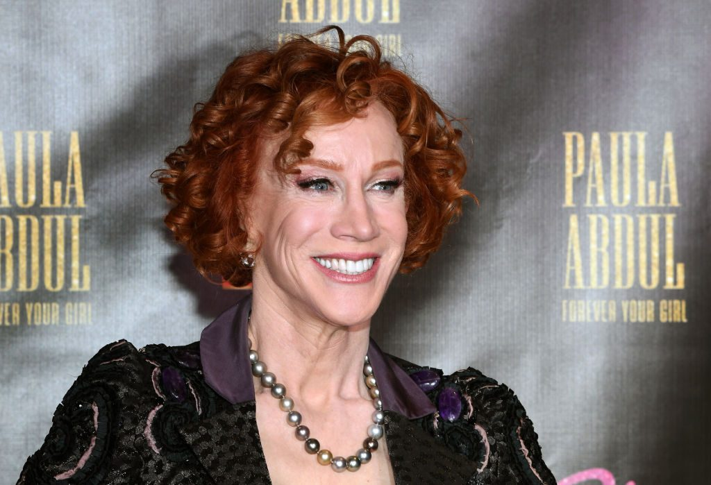 """Kathy Griffin attends the official opening of Paula Abdul's Flamingo Las Vegas residency """"Paula Abdul: Forever Your Girl"""" at The Cromwell Las Vegas"""