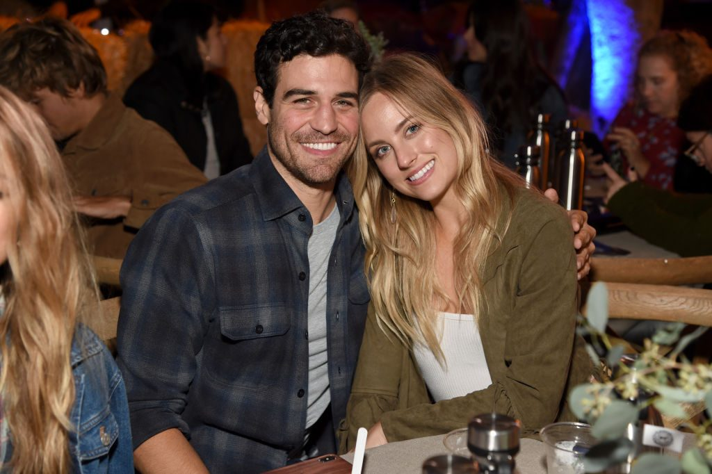 Joe Amabile and Kendall Long attend The Gentle Barn's 20th Anniversary Celebration at The Gentle Barn on September 28, 2019 in Santa Clarita, California.