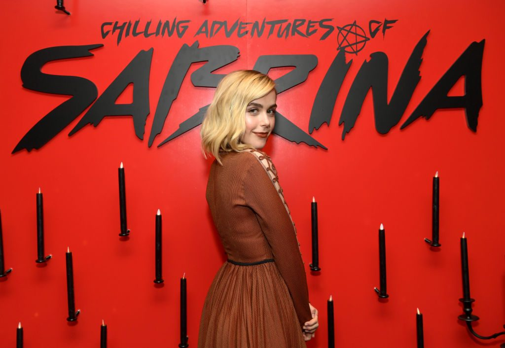 Kiernan Shipka star of Chilling Adventures of Sabrina saeson 3