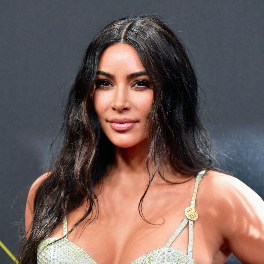 Kim Kardashian West christmas card