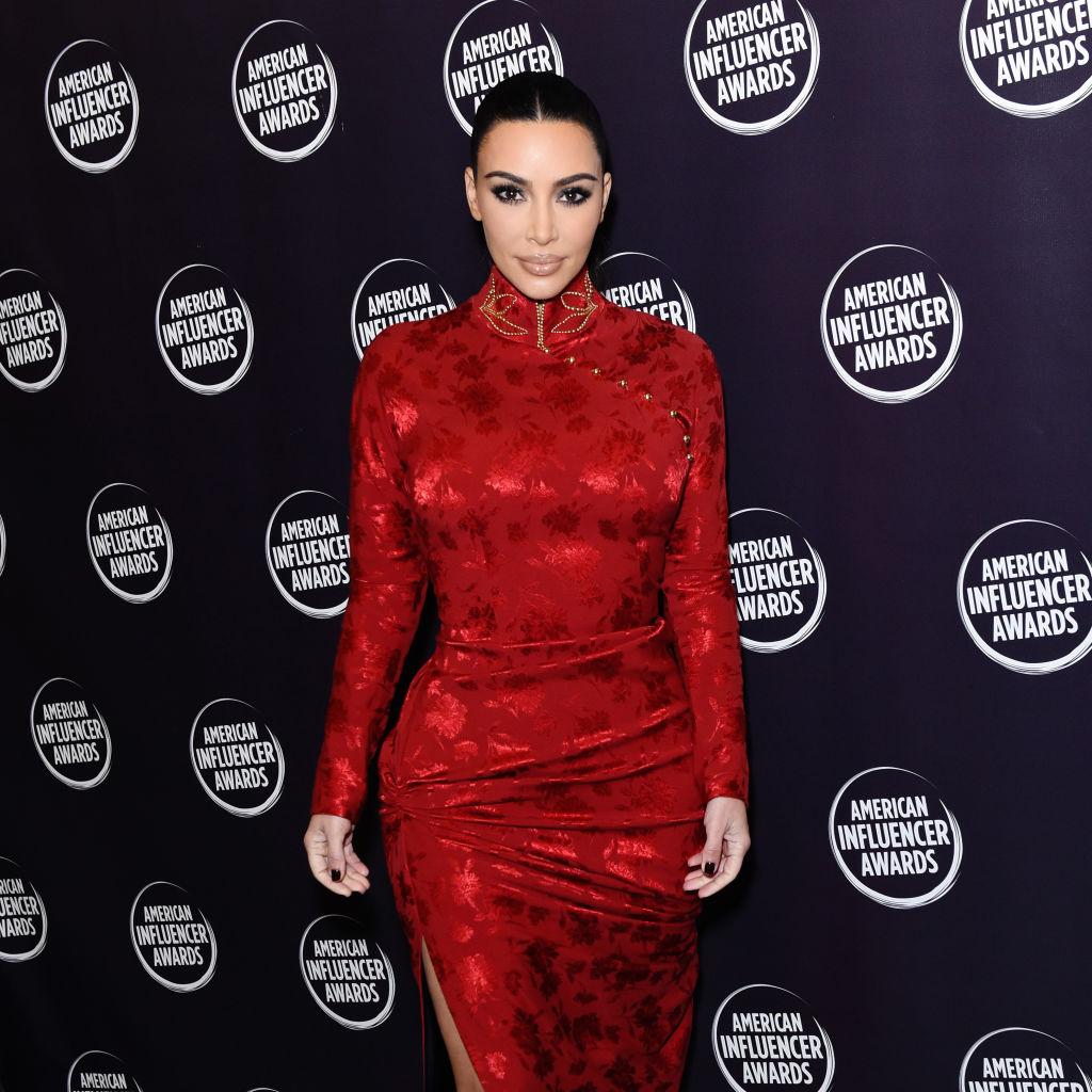 Kim Kardashian West at the American Influencer Awards