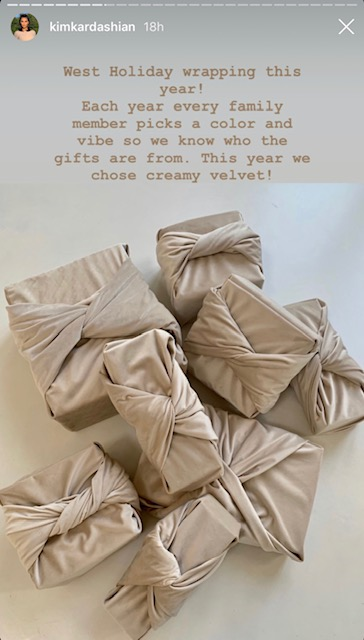 Kim Kardashian West Christmas gifts