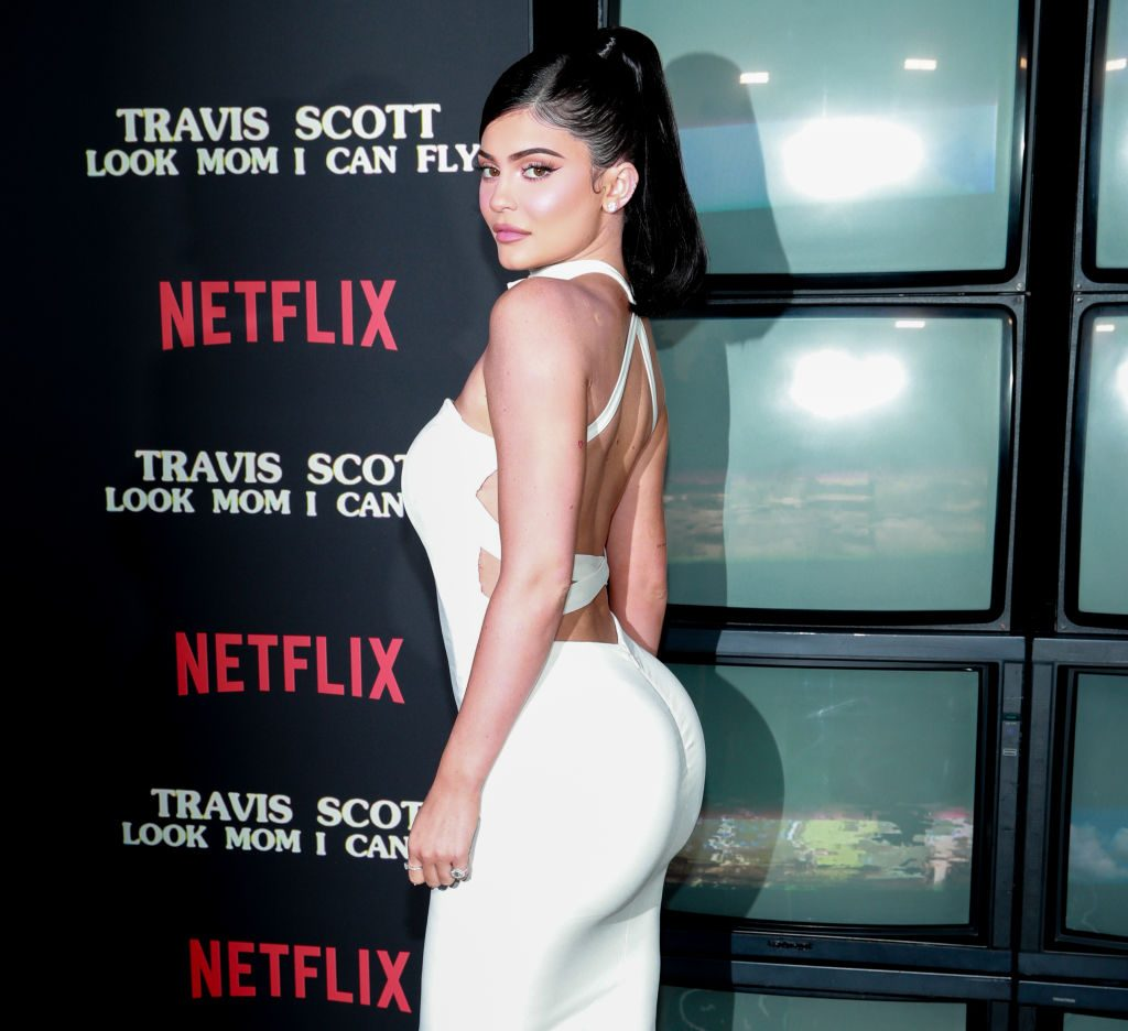 Instagram Kylie Jenner at Look Mom I Can Fly premiere