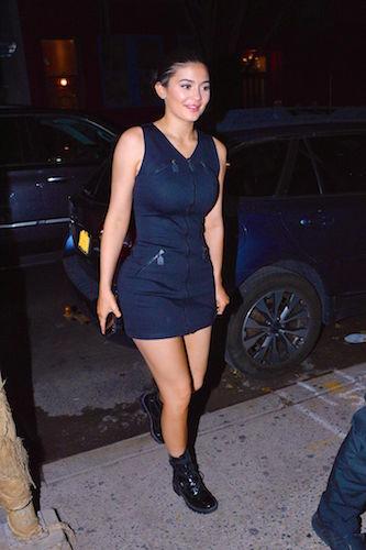 Kylie Jenner sans lip fillers