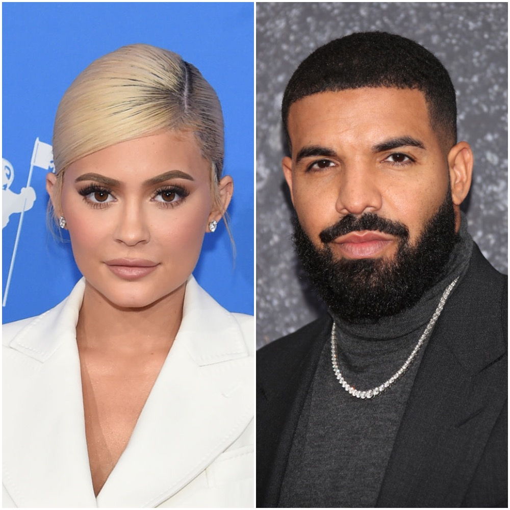 (L-R) Kylie Jenner and Drake