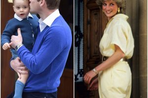 The Naughty Christmas Habit Prince George Got From Prince William and Princess Diana
