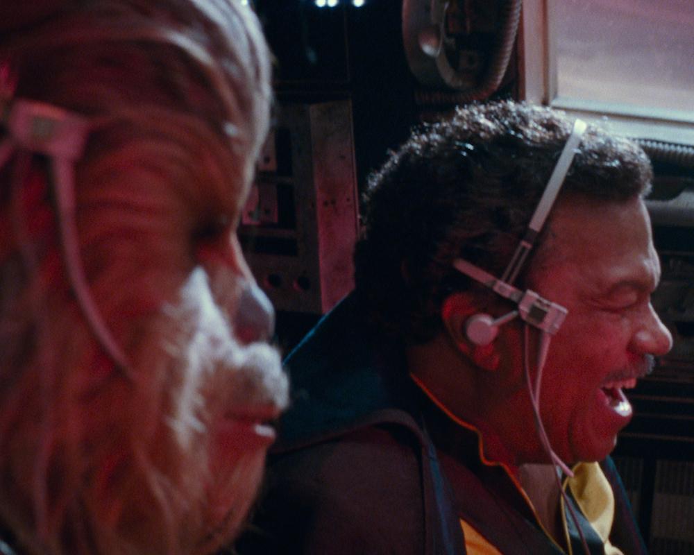 Lando Calrissian and Chewbacca