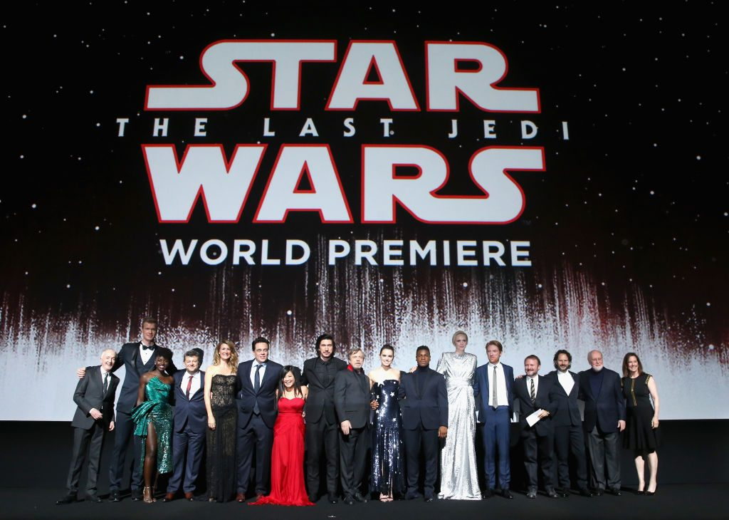 Star Wars: The Last Jedi premiere