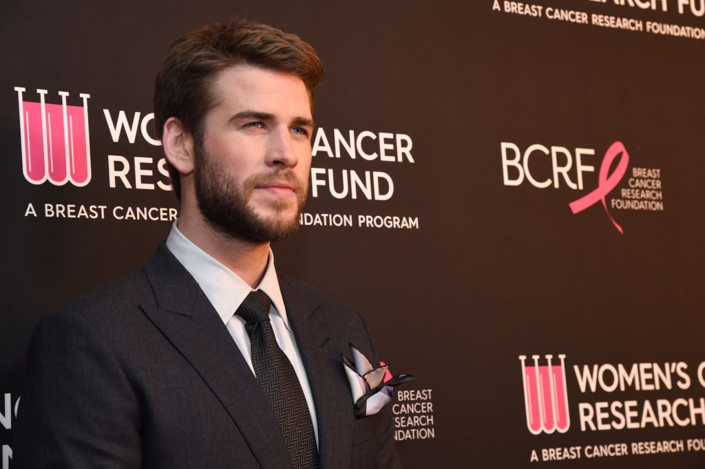 Liam Hemsworth on the red carpet