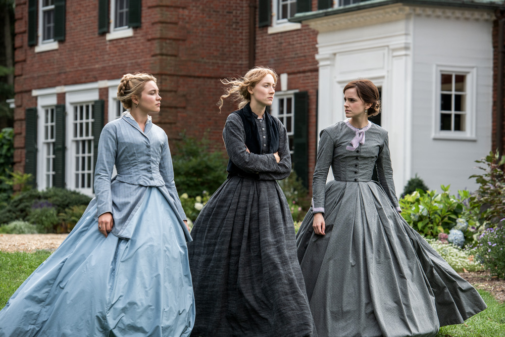 Florence Pugh, Saoirse Ronan, Emma Watson