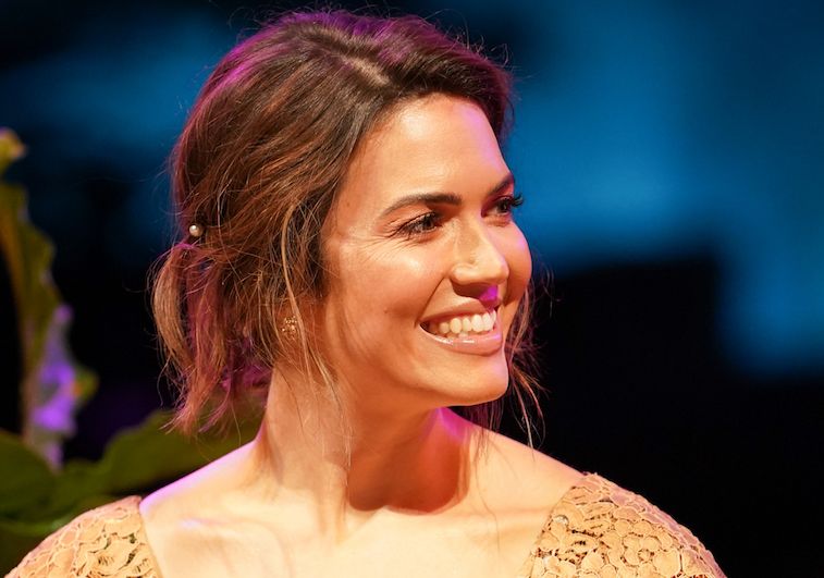 Mandy Moore at a 'This Is Us' press event
