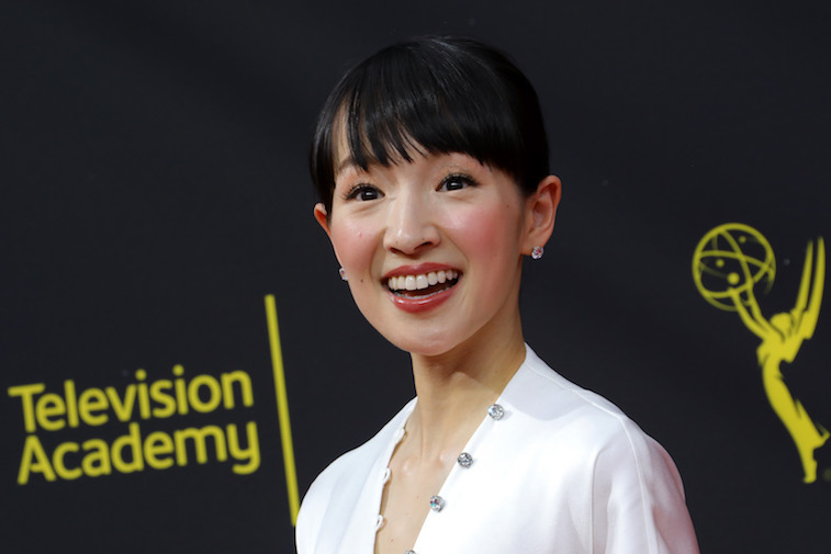 Marie Kondo on the red carpet