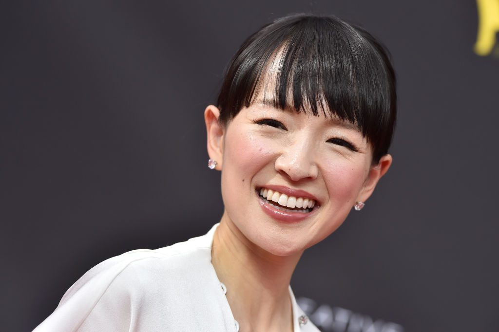 Marie Kondo at a red carpet event