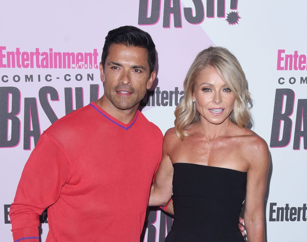 Mark Consuelos Is a Protective Dad at Son's Wrestling Match