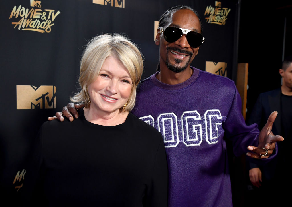 Martha Stewart and Snoop Dogg