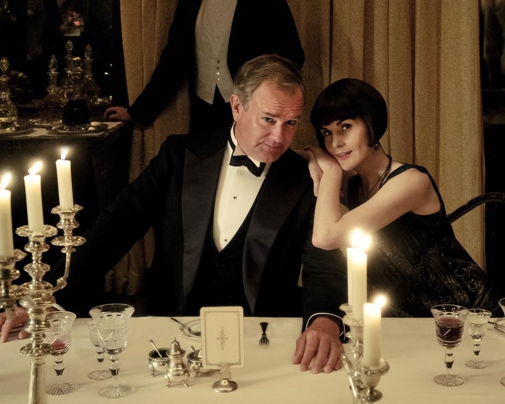 Downton Abbey: Hugh Bonneville and Michelle Dockery