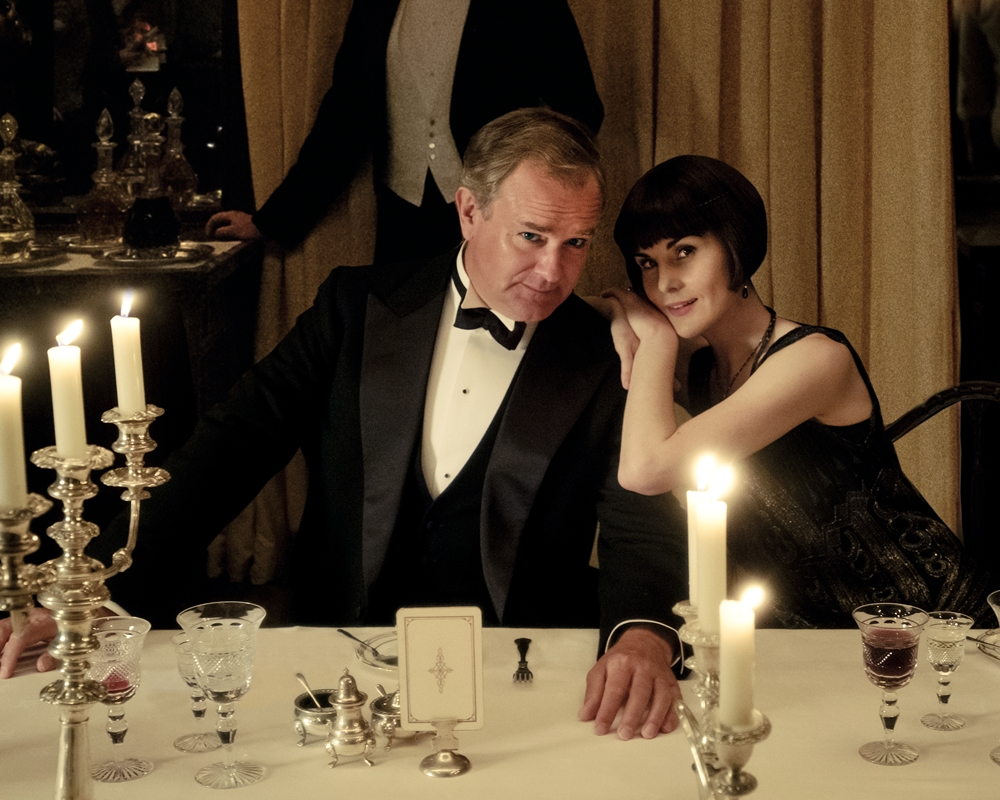 Downton Abbey: Hugh Bonneville and Michelle Dockery
