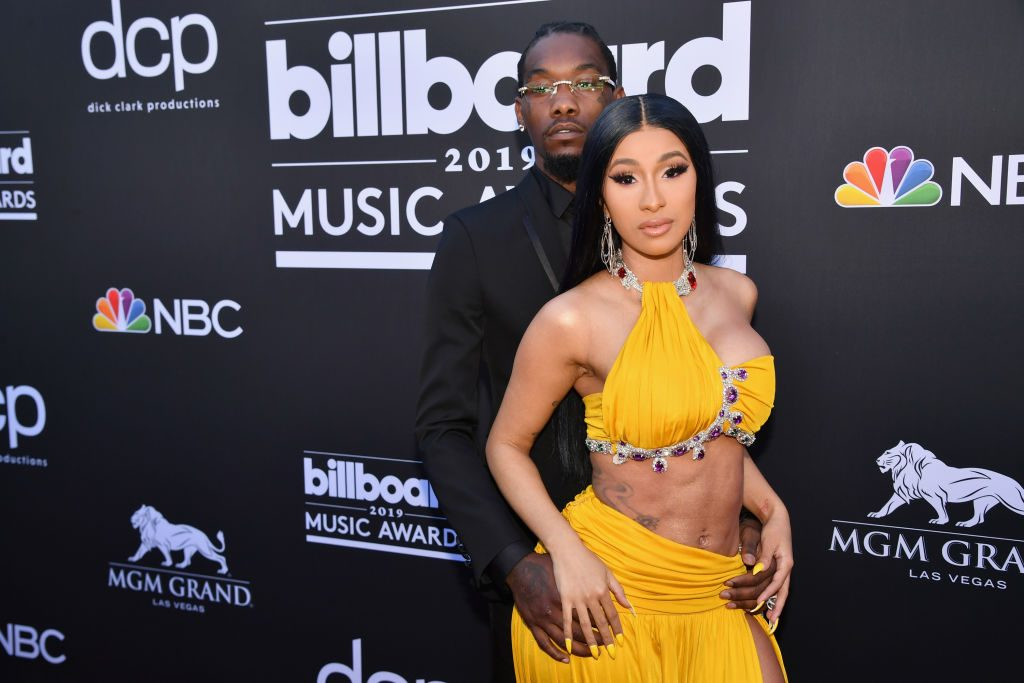 Offset and Cardi B on the red carpet