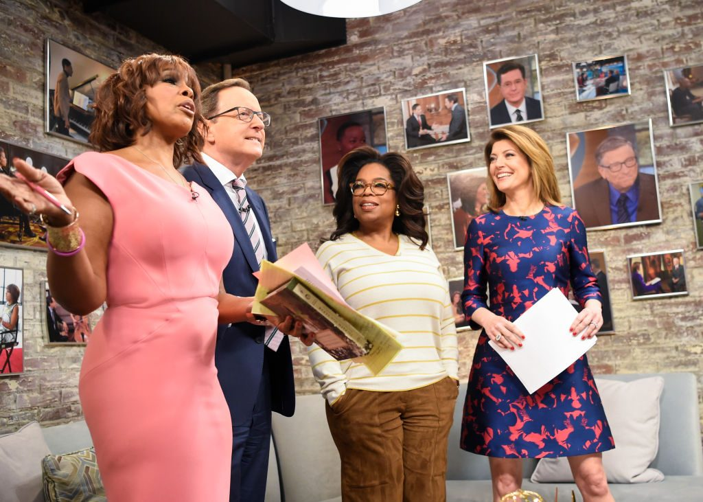 Oprah Winfrey on CBS This Morning |  Michele Crowe/CBS via Getty Images
