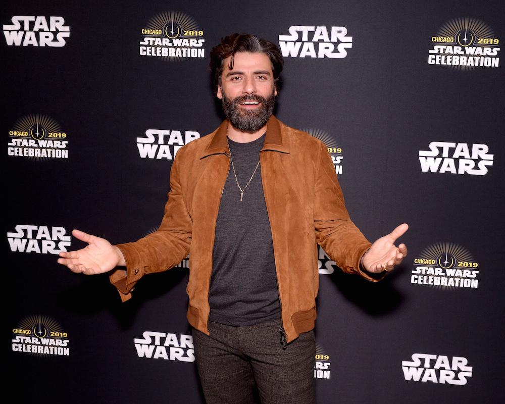 Oscar Isaac at Star Wars Celebration
