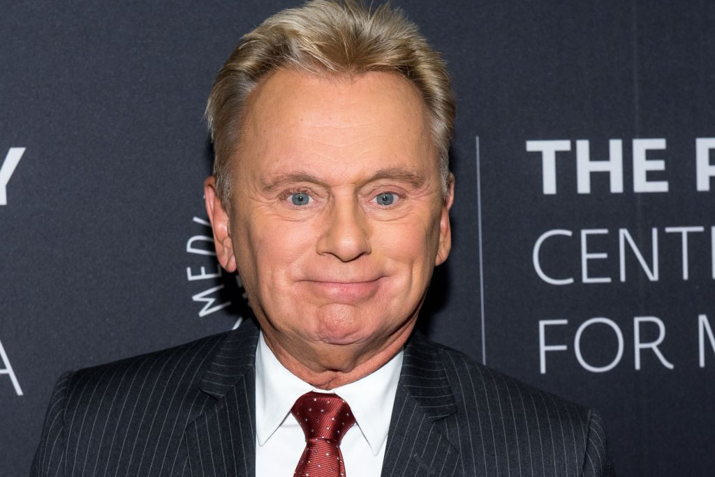 Pat Sajak of Wheel of Fortune