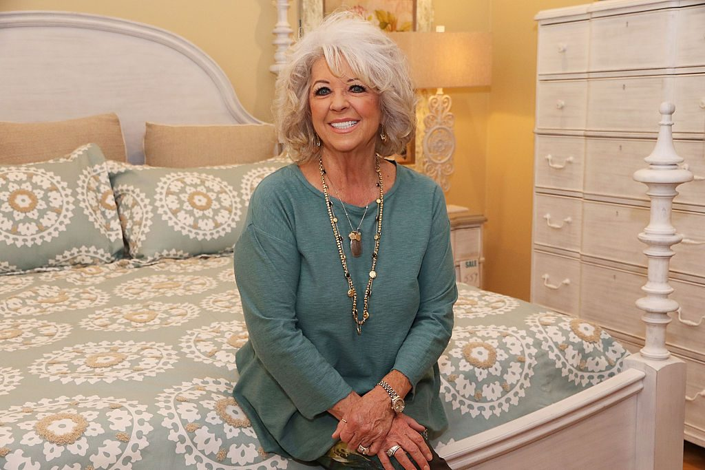 Paula Deen signs copies of her book during Cuts the Fat Book Tour on January 30, 2016 in Boca Raton, Florida.