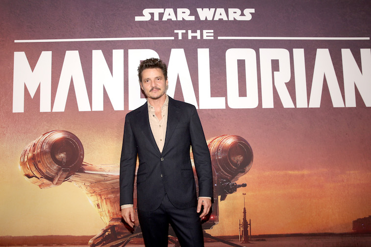 Pedro Pascal on the red carpet