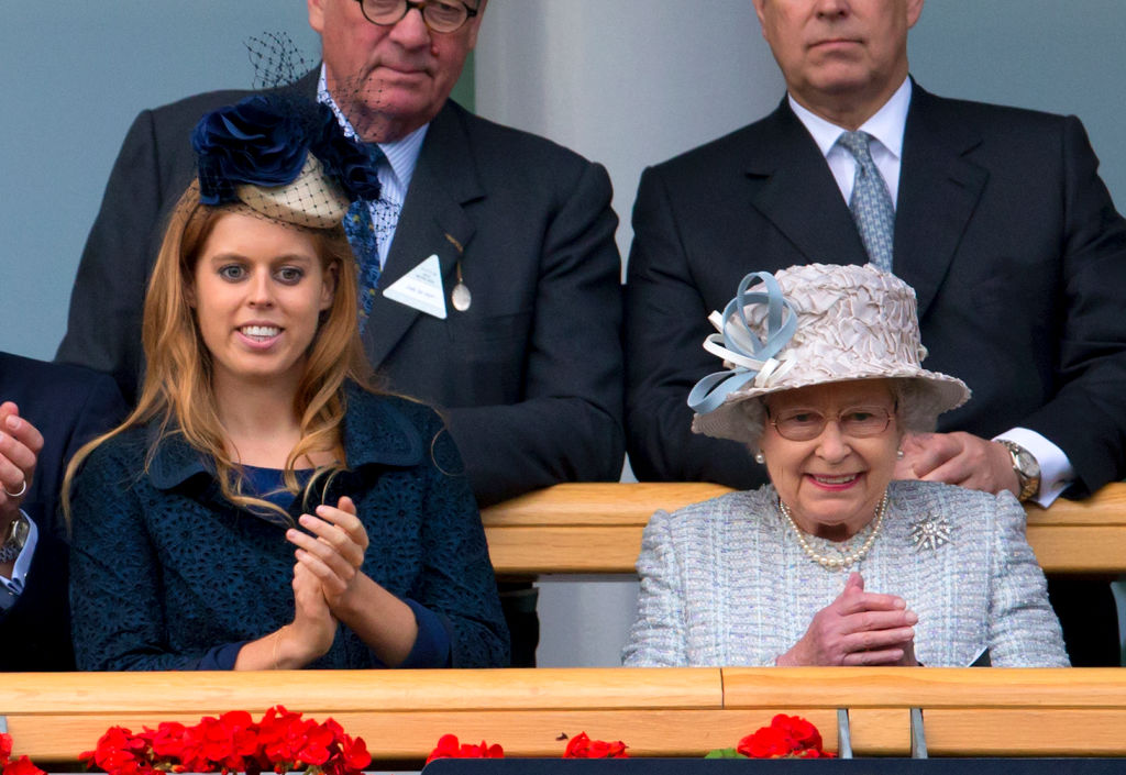 Princess Beatrice and Queen Elizabeth