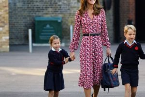 Kate Middleton Reveals the Adorable Thing Prince George and Princess Charlotte Love to Do at Home All the Time