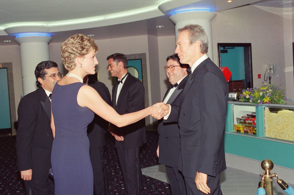 Princess Diana and Clint Eastwood