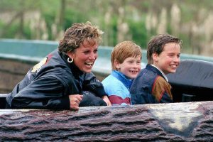 The 1 Word Prince William and Prince Harry Use to Describe Princess Diana