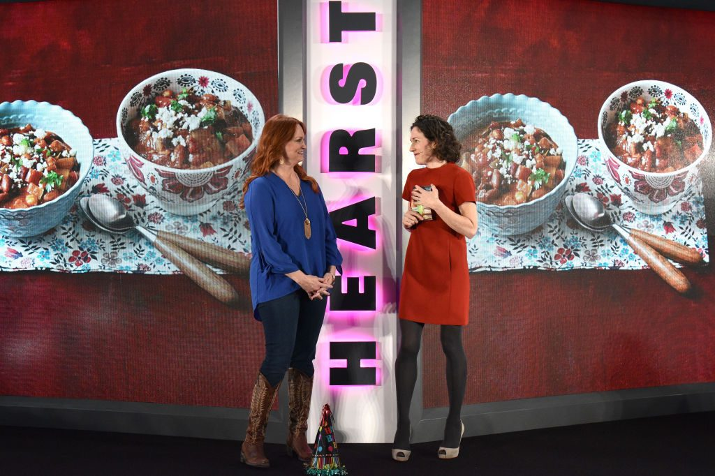 Ree Drummond (L) and Editor-in-Chief of Food Network Magazine Maile Carpenter |  Bryan Bedder/Getty Images for Hearst