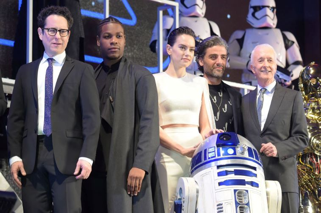 Rise of Skywalker cast