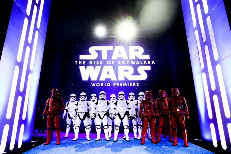 Rise of Skywalker Premiere
