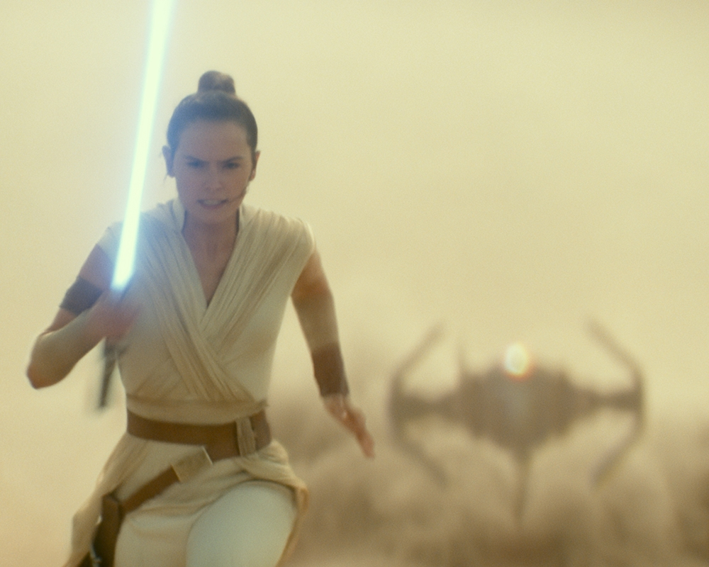 Daisy Ridley in The Rise of Skywalker