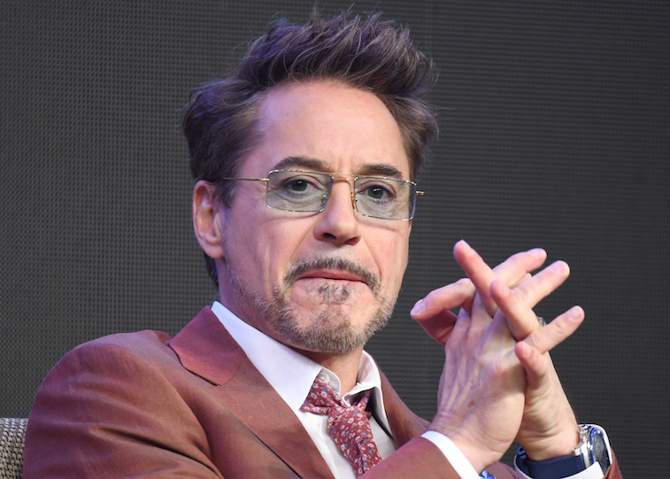 Robert Downey Jr. on the red carpet
