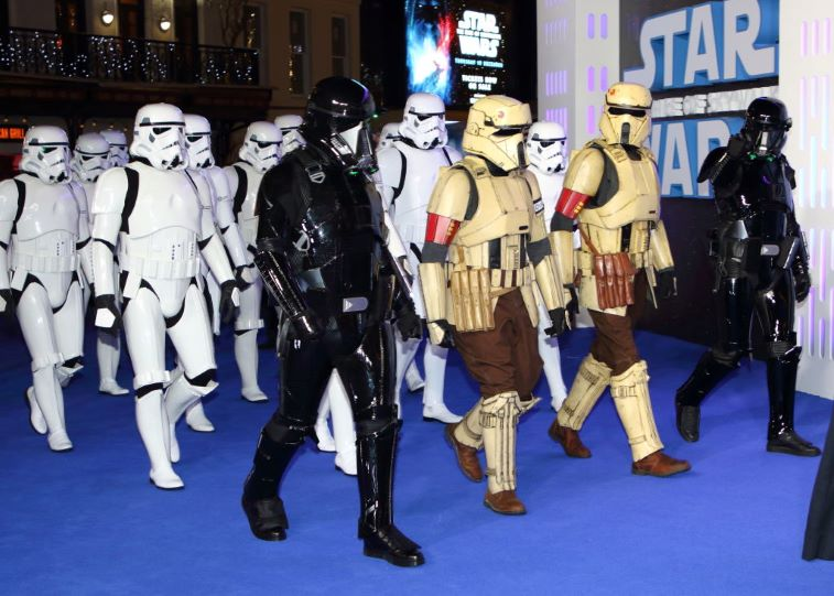 Star Wars Rise of Skywalker Premiere